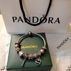 Pandora princess complete bangle